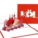 "3D POP UP KARTE ""CITY CARD KÖLN"""